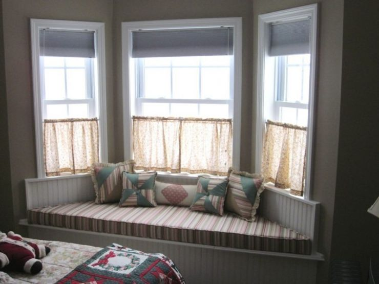Gorgeous Bay Window Bedroom Ideas Nice Kitchen Bay Window Curtains Home Window Ideas - Bee Home Decor