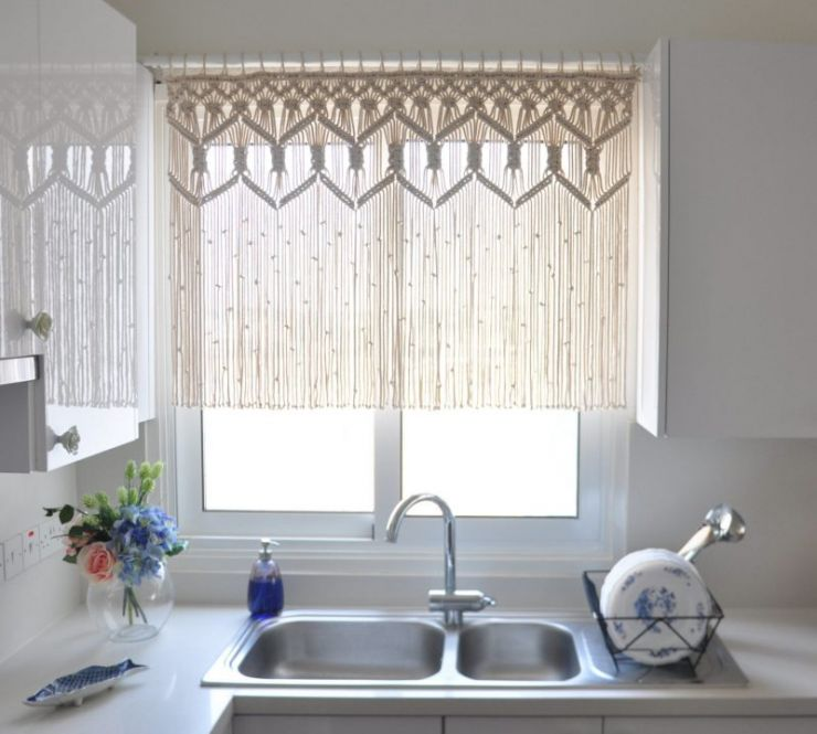 short kitchen curtains uk