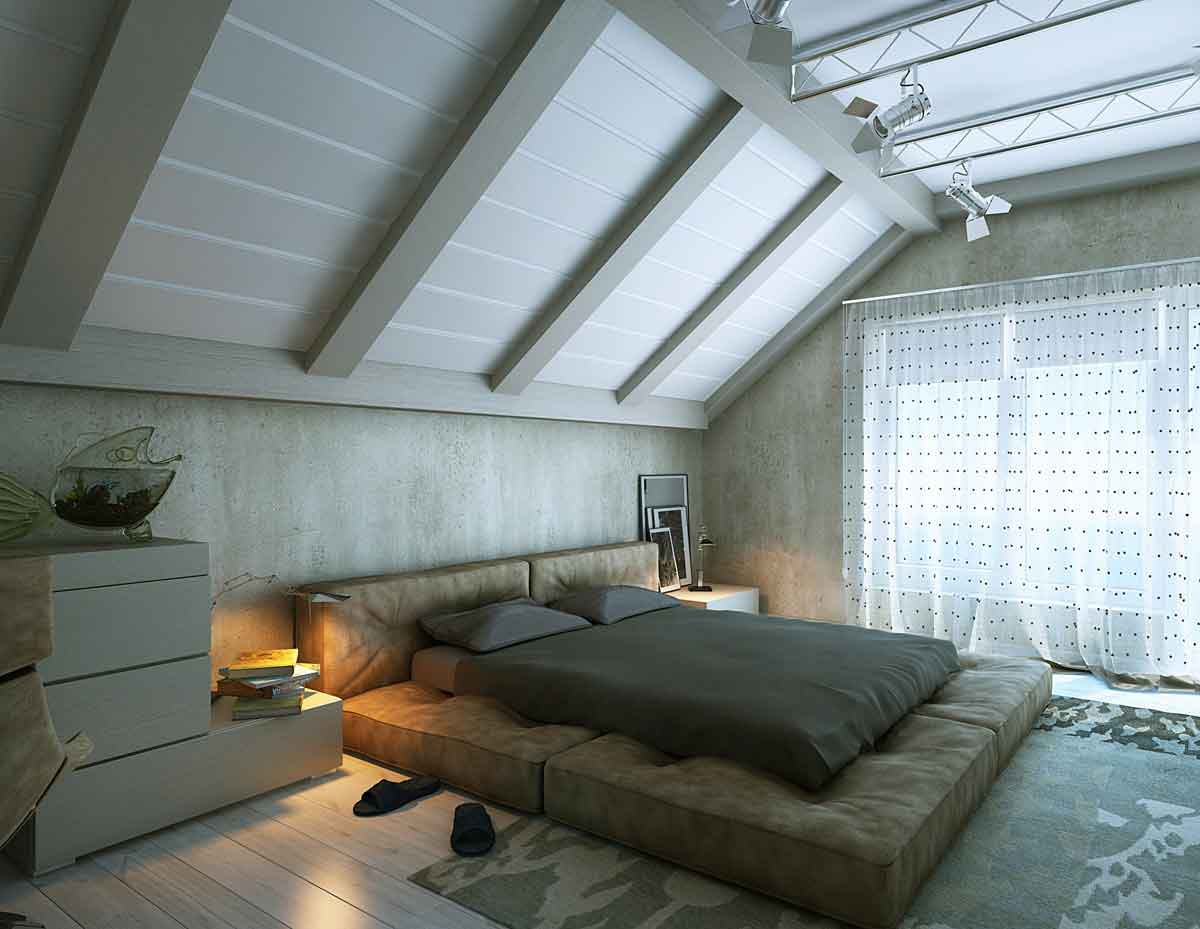 modern-attic-bedroom