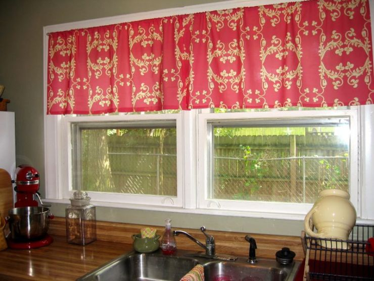 good-kitchen-curtain-ideas-applied-on-the-spacious-air-vents-in-red-color