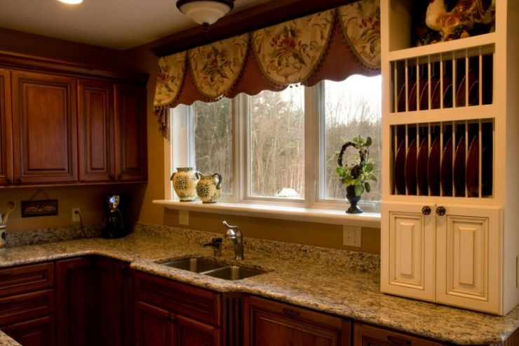 Kitchen Kitchen Home Gardenstech Valance Ideas Bay Windows pertaining to Beautiful Small Bay Window For Kitchen - Window Design Ideas